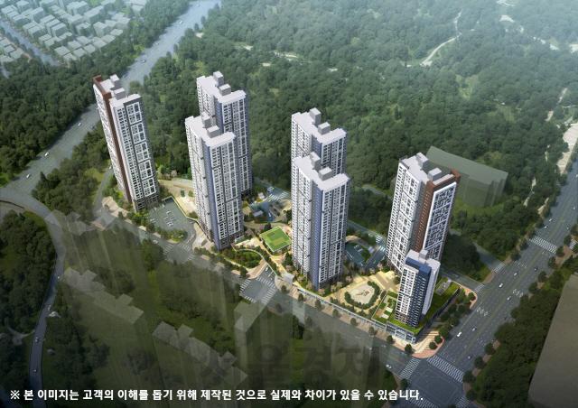 포스코건설, 다음달 '더샵 광주포레스트' 분양