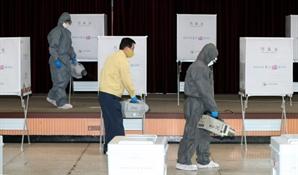 광주 사전투표소에서 투표용지 훼손한 유권자, 선관위 직원 폭행까지