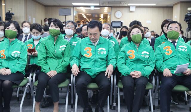 민생당, 원외정당으로 전락해 사실상 '소멸' 위기
