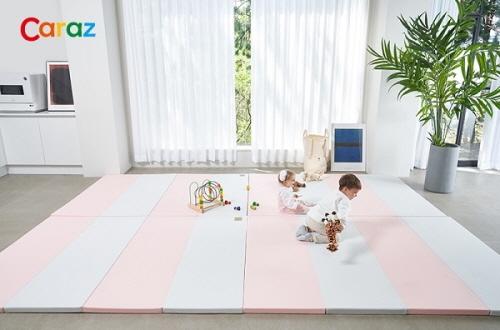 유아용매트 전문 브랜드 카라즈, 항균 폴더매트 출시