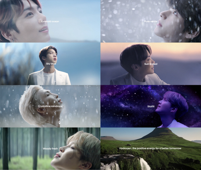 BTS와 함께한 현대차 '글로벌 수소 캠페인' 영상 1억뷰 돌파