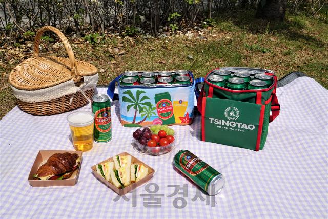 칭따오, 집에서 맥주 한 잔 '홈핑'族 위한 쿨러백 출시