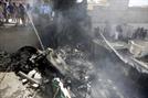 107명 탄 파키스탄 여객기 추락
