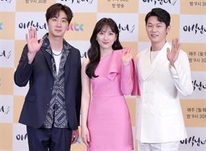 [SE★현장]'야식남녀' 정일우X강지영X이학주, 음식·로맨스·힐링 다 잡는다(종합)