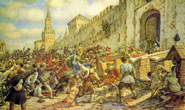[오늘의 경제소사] 1648년 모스크바 소금 봉기