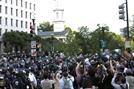 """""""우려가 현실로""""…흑인사망 시위 워싱턴DC, 코로나19 다시 급증"""