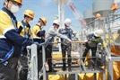 [사진]선박 건조현장도 안전이 최우선