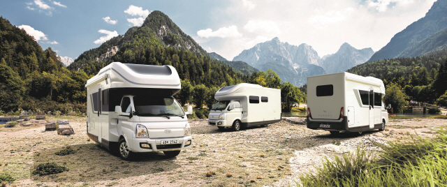 '포터가 캠핑카로 변신' 현대차, 포터 기반 캠핑카 '포레스트' 출시