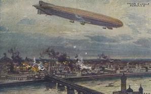 [오늘의 경제소사] 1914년 비행선 첫 전략폭격