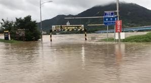[속보] 섬진강 홍수 범람…구례·곡성 일부 제방 넘어
