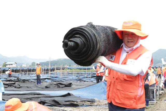 전국 신협 임직원 수해지역 긴급 복구 지원