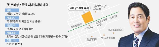 [단독]신세계그룹, 강남 노른자 '옛 르네상스호텔 재개발' 투자