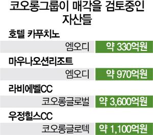 [단독/시그널] 코오롱그룹, 6,000억원대 리조트·골프장 매각한다