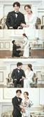'악의꽃' 이준기·문채원, 웨딩 사진 공개