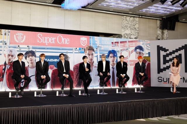 [SE★현장] 'SuperM 존재 의미 보여줄 것' 케이팝 어벤저스의 강렬한 포부(종합)