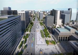 도로 유지해 교통 영향 최소화…광화문 광장 재구조화안 확정