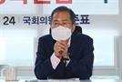 """정세균 """"차량 시위 면허 취소""""에 홍준표 """"법학통론 기초도 몰라"""""""