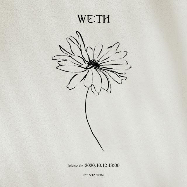 펜타곤, 10월 12일 컴백 확정…미니 10집 'WE:TH' 아트워크 티저 공개
