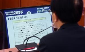 'X줌 급한 여자' '자X방 애인'... 국감 때 '야동' 제출한 민주평통