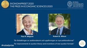 '경매이론 대가' 폴 밀그롬·로버트 윌슨 노벨경제학상 수상