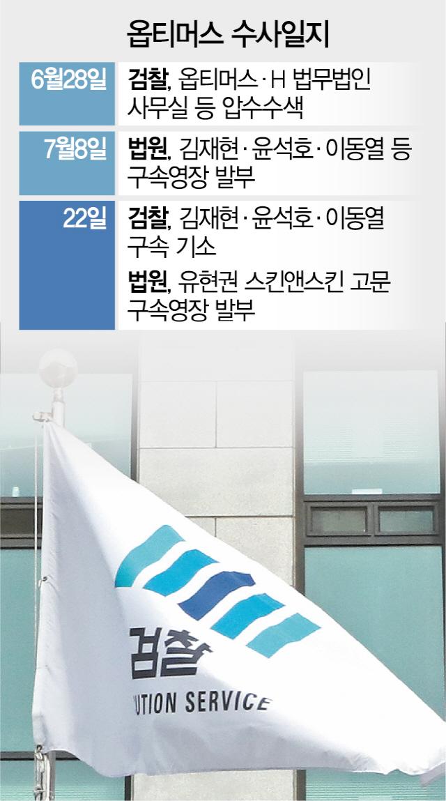 [단독] 옵티머스 '판도라 상자' 윤석호 휴대폰, 유현권에 전달됐다
