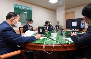 홍남기, '세계은행 개발위' 참석... 'K-뉴딜' 국제사회에 제안