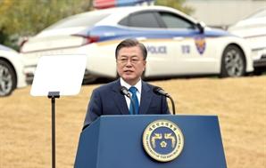 """文대통령 """"국가수사본부 출범 예정...오랜 경찰 숙원 이뤄지고 있어"""""""