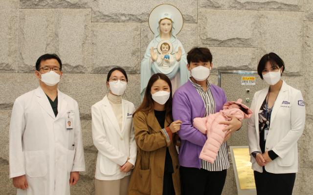 신장이식 받은 여성, 3년 8개월만에 건강한 아기 출산