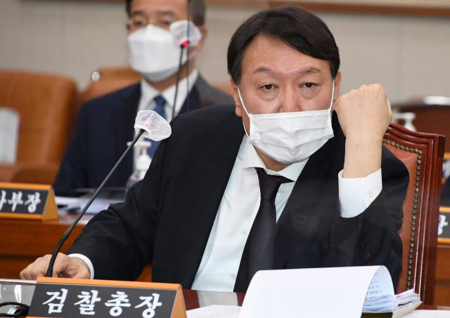 윤석열 '총장은 장관 부하 아니다'…남부지검장 '정치가 檢 덮어'
