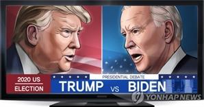 """[속보] 트럼프 """"바이든 당선되면 증시 폭락할것"""""""