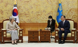 메이 전 영국 총리, 한국 강연료 2억…퇴임 후 22억 벌어