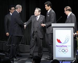 IOC 이건희 회장 애도 성명·조기 게양