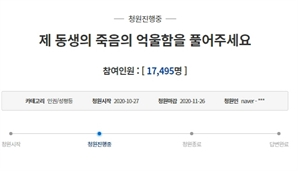 """독감 백신 접종 후 숨진 고교생 형 """"극단적 선택 아니다"""" 청원에 네티즌 눈길"""