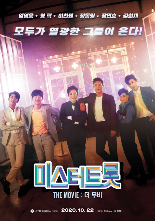임영웅→김희재 TOP6 저력…'미스터트롯: 더 무비' 3위 '역주행'