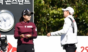 최혜진 vs 김효주...돌고 돌아 무승부
