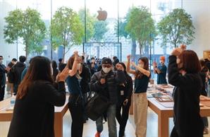 애플 첫 5G 아이폰12…첫날에만 10만대 팔렸다