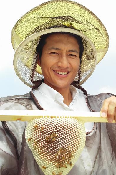 """박진 어반비즈서울 대표 """"도심서 키우는 꿀벌, 시민들도 이롭죠"""""""