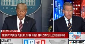 트럼프에 싸늘한 美 언론...'부정선거' 주장에 생중계 끊기도