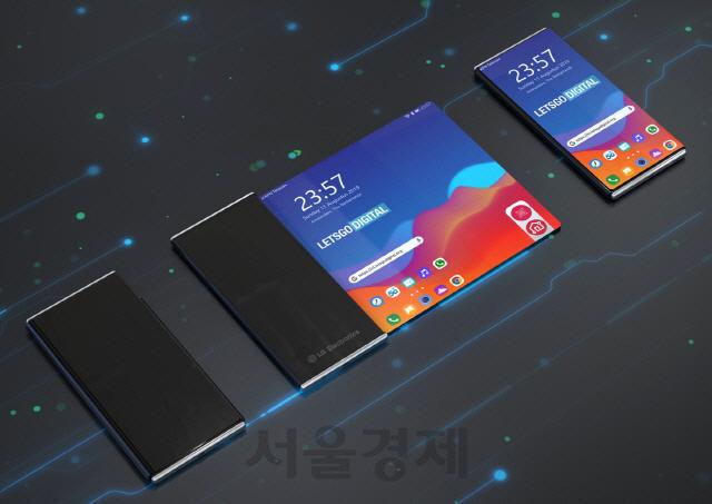 '상소문폰 펼쳐졌다'…중국 오포, LG보다 빠르게 공개