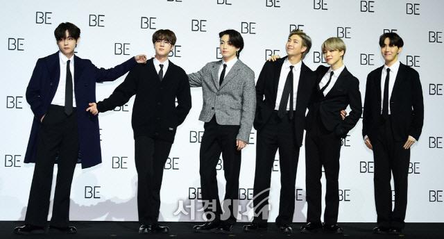 [SE★현장] 좌절했던 방탄소년단이 전하는 따뜻한 위로 '그래미'에 한발 더(종합)