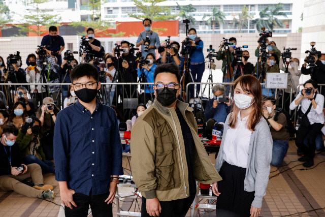 조슈아 웡 '중국, 세계 자유에 위협…공정한 재판 기대 안해'
