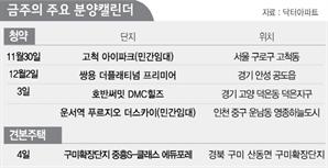 [분양캘린더] 서울 일반분양 또 '0'…수도권 민간임대 공급