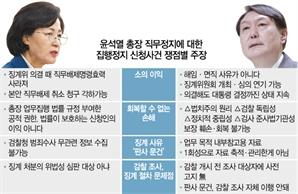 """윤석열 """"직무 정지로 법치주의 훼손...검찰 독립성도 회복할 수 없어"""""""