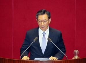 """정성호 """"558조원 예산 법정기한 지켰다…야당 지도부에 감사"""""""