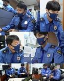 '바다경찰2' 수기 이범수 VS 타이핑 이태환, 극과 극 보고서 작성법