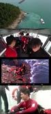 '바다경찰2' 온주완, 헬기까지 뜬 100% 실제상황 인명 구조 위해 바다 입수