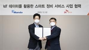 SK렌터카·만도, '스마트 정비 서비스' 고도화 위해 협력