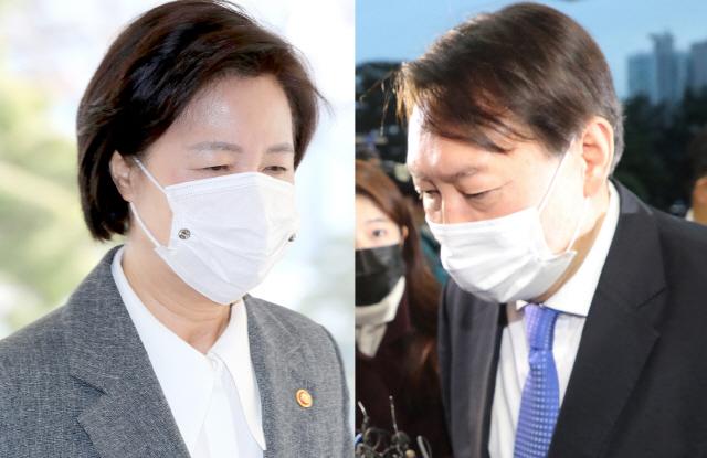 '추미애-윤석열 갈등' 지속에 국민 '秋 책임' 38% '尹 책임' 18%