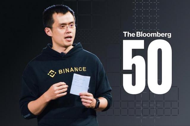 창펑자오 바이낸스 CEO, '2020 블룸버그 50인' 선정