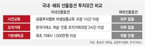 확 늘어난 해외 선물투자…'기본예탁금' 도입하나